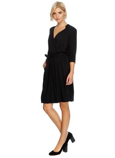 Belden Bağlamalı Anvelop Elbise-Limon Company